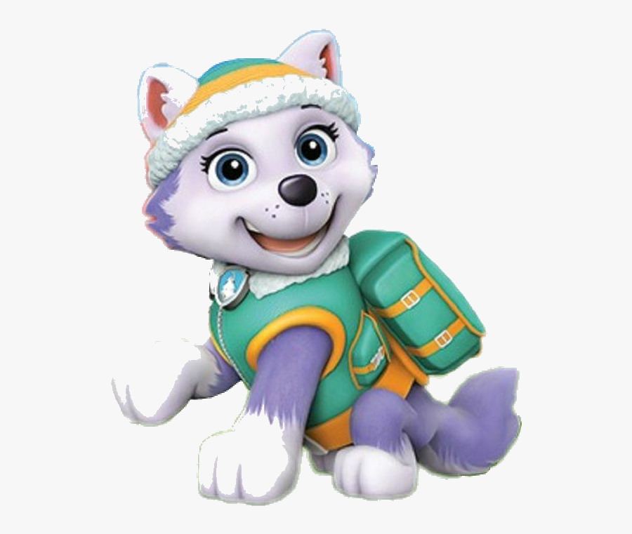 Paw Patrol Clipart Clip Art Leapfrog Leaptv Toy Game - Everest Paw Patrol Png, Transparent Clipart