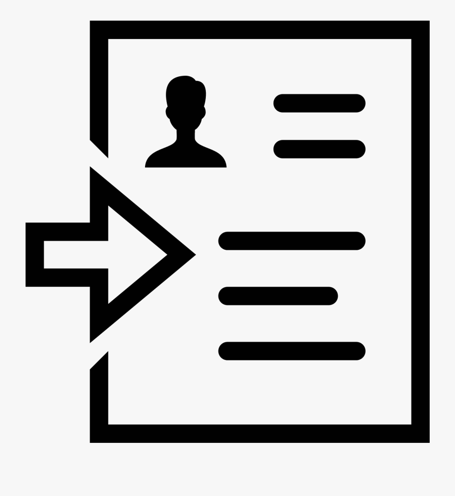 Set As Resume Icon - Sending Resume Clipart Png, Transparent Clipart