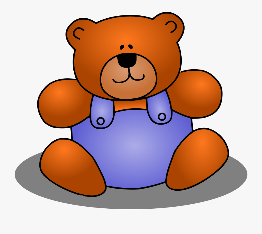 Toy Clipart Stuff Toy - Stuffed Toy Clipart, Transparent Clipart