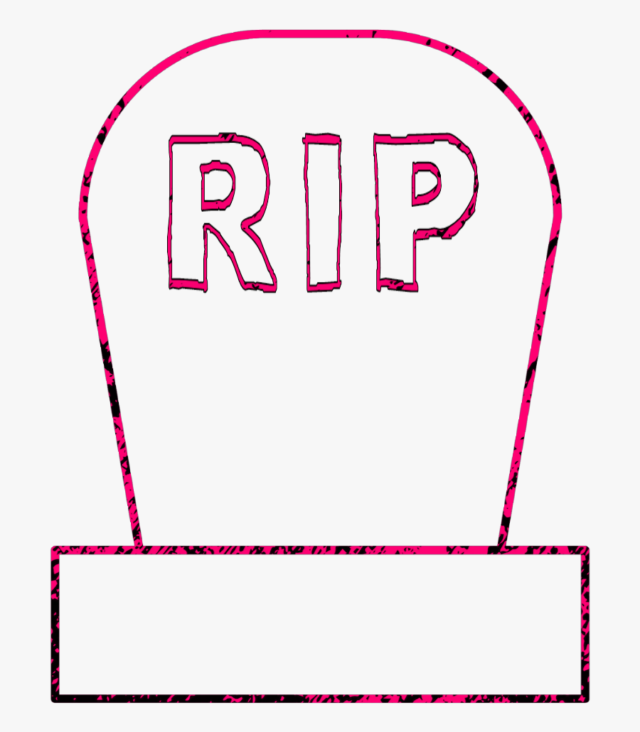 #halloween #spookey #holidays #outline #tombstone #gravestone, Transparent Clipart