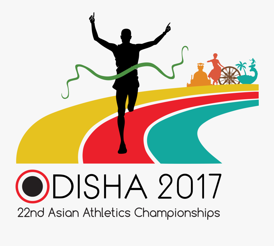 Athlete Clipart Athletic Game - Asian Athletic Championship 2017, Transparent Clipart