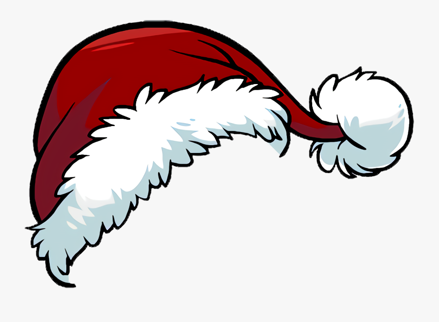 Santa Claus Hat Christmas Santa Suit Clip Art - Christmas Hat Png Cartoon, Transparent Clipart