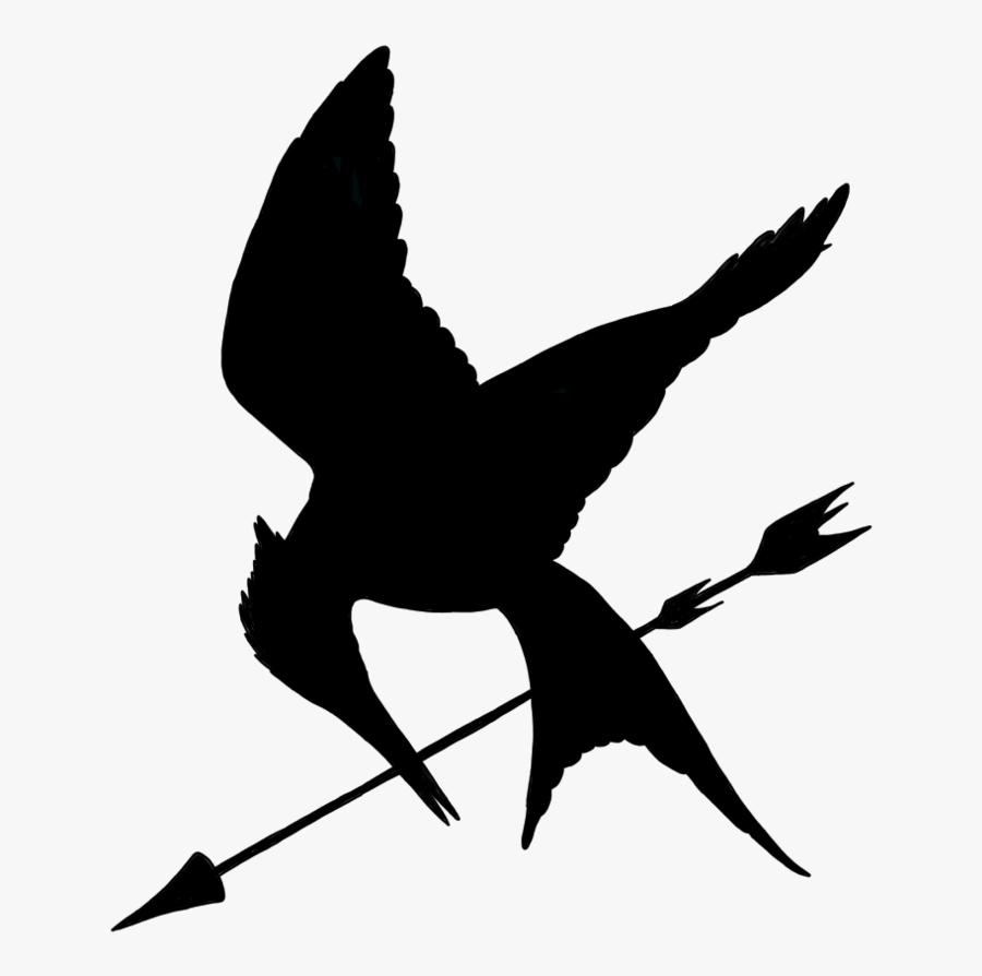 Minimalist Mockingjay With Arrow By Allheartsgoboom Hunger Games