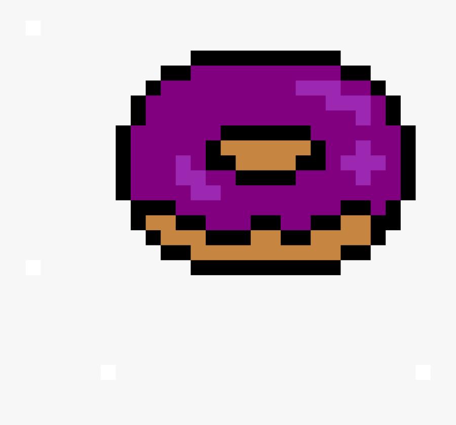 Donut Pixel Art Free Transparent Clipart Clipartkey