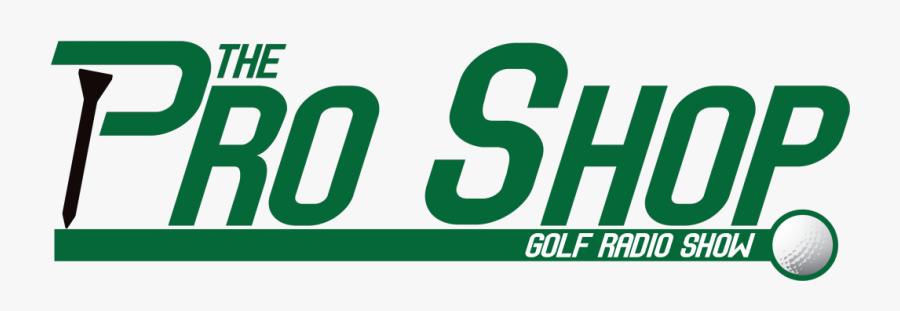 The Pro Shop Golf - Graphics, Transparent Clipart