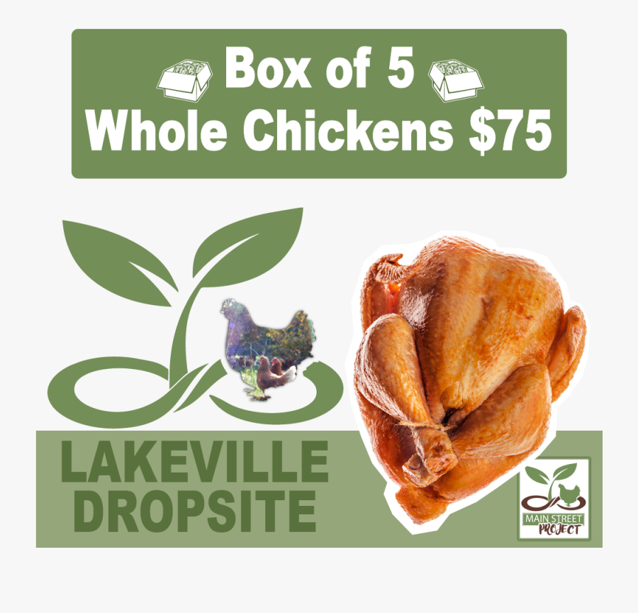 Main Street Project Lakeville Chicken Dropsite - Office In A Box, Transparent Clipart