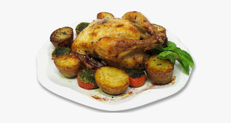 Turkey-meat - Roasted Chicken Png, Transparent Clipart