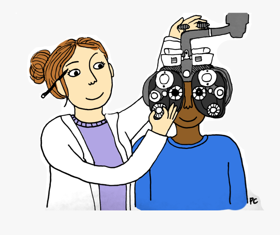 As Our Gateways To The World, The Function Of The Human - Optometry Animated, Transparent Clipart