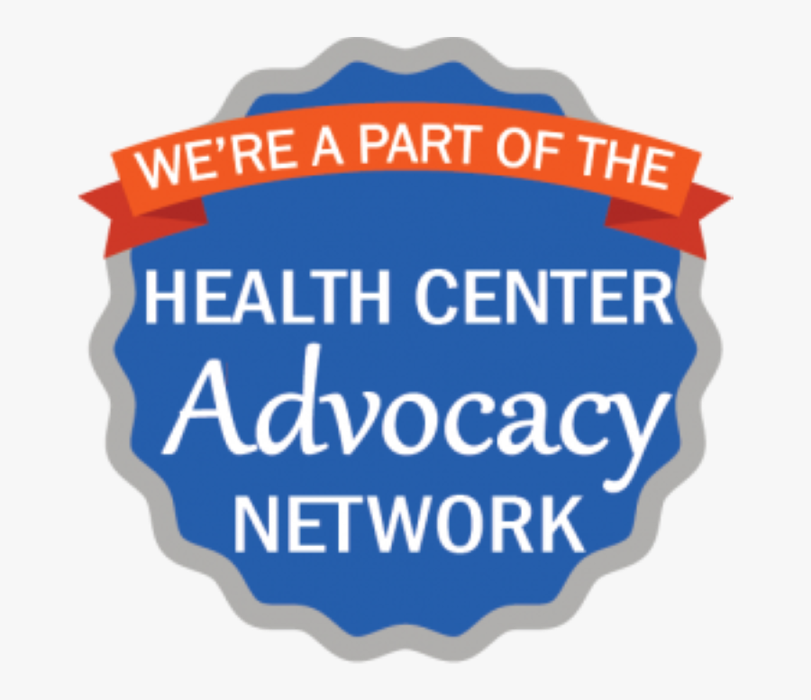 N Web Badge Were A Part Of - Health Center Advocacy Network, Transparent Clipart
