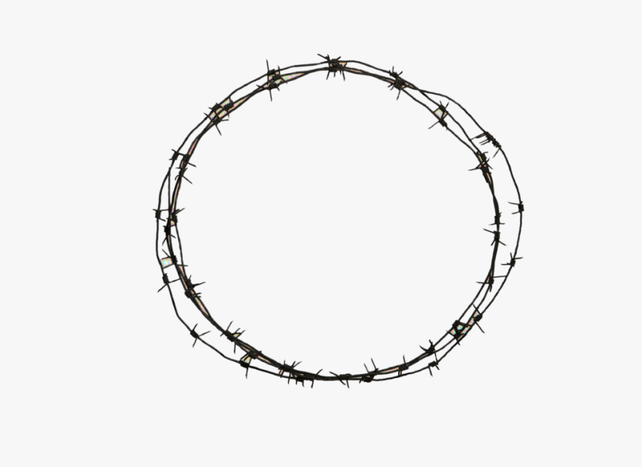 Barbed Wire Circle Png - Transparent Background Barbed Wire Clipart, Transparent Clipart
