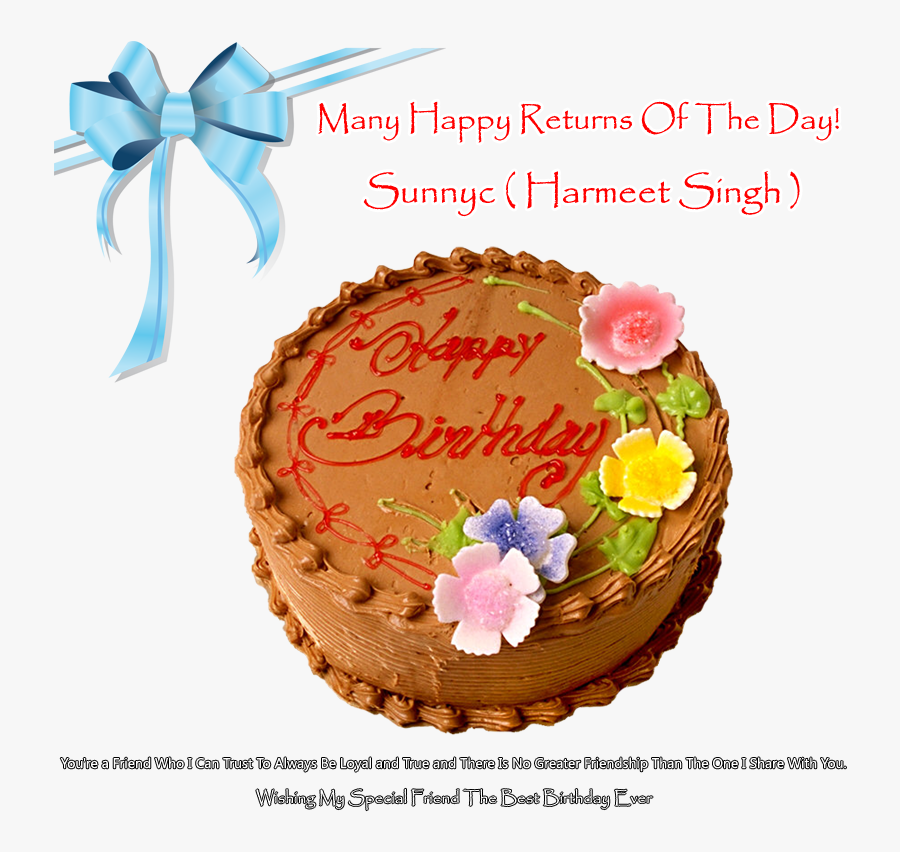 Transparent Free Happy Birthday Brother Clipart - Meni Meni Happy Returns Of The Day, Transparent Clipart