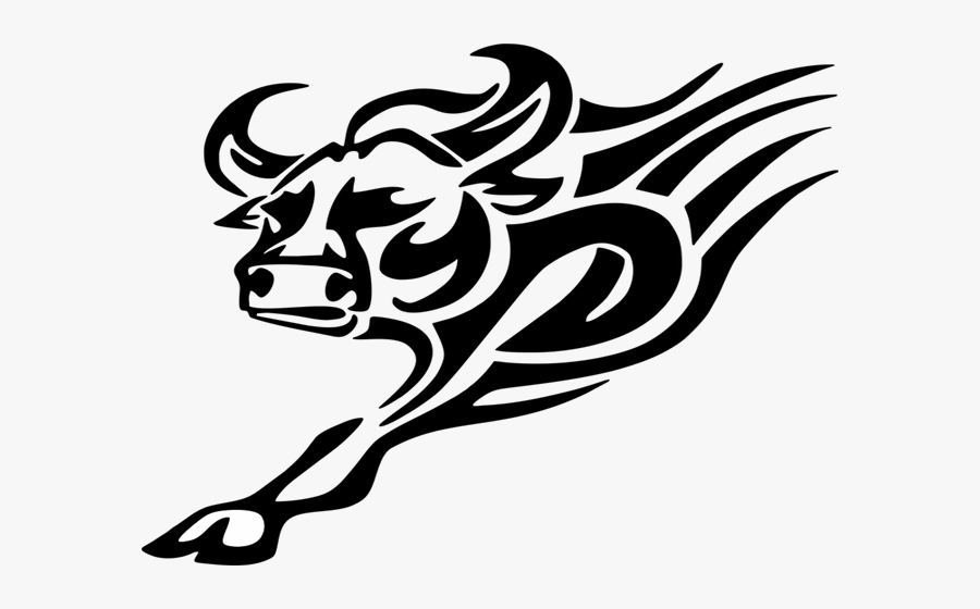 Tattoo Designs For Women - Bull Tribal Png, Transparent Clipart