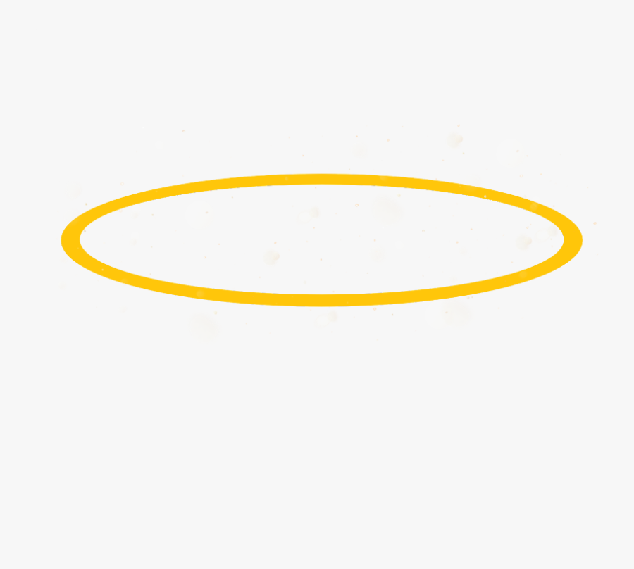 Just A Really Simple Halo Lol - Circle, Transparent Clipart