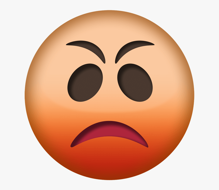 Angry Emoji Png Transparent - Angry Fire Clipart Transparent Background, Transparent Clipart