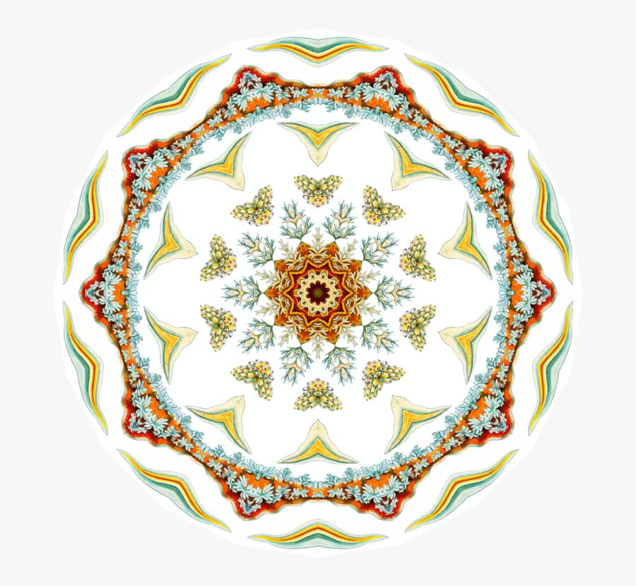 Visual Arts,symmetry,plate - Circle, Transparent Clipart