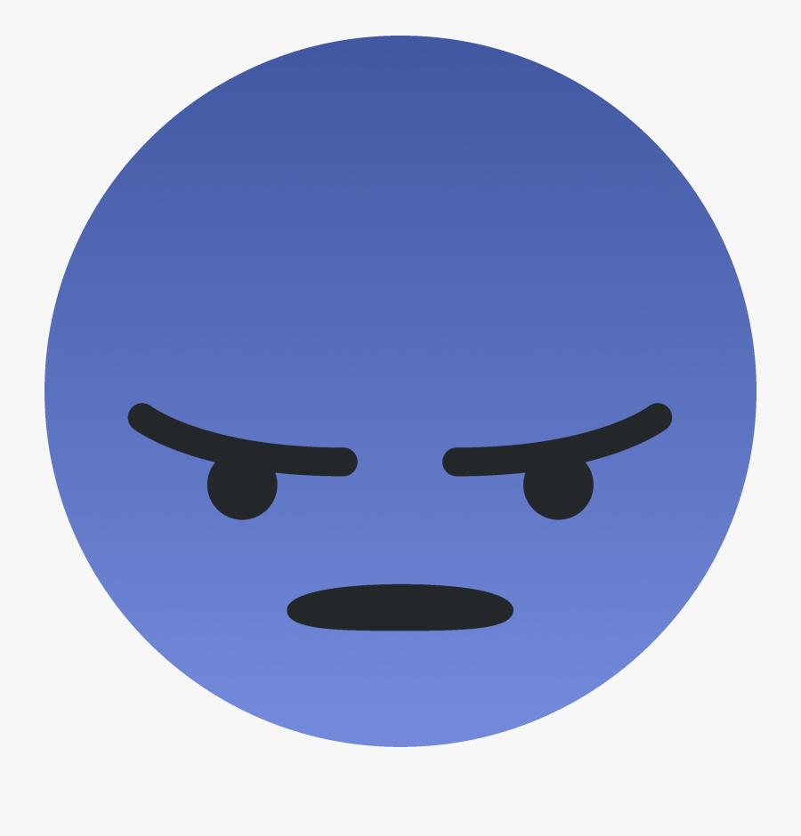 Suprised Emoji Png - Angry Discord Emoji, Transparent Clipart