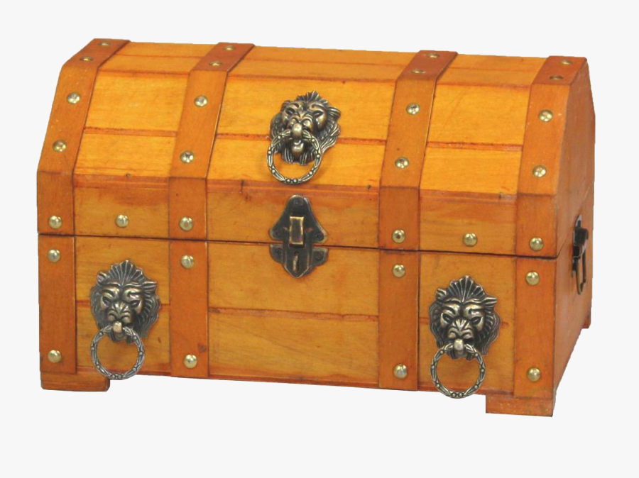Transparent Trunk Png - Pirate Treasure Chest, Transparent Clipart