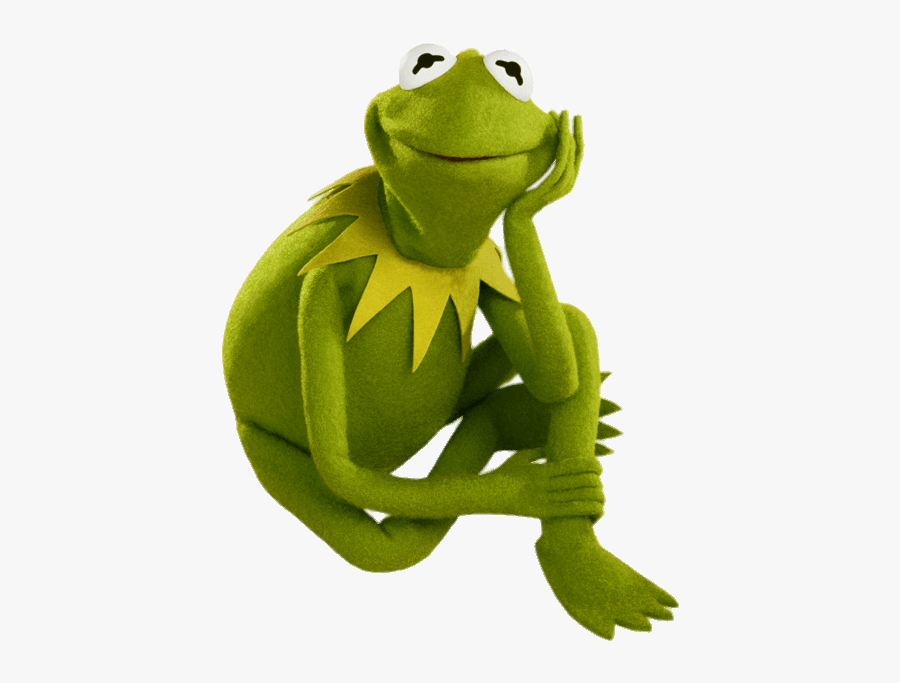 Kermit The Frog Sitting - Kermit The Frog, Transparent Clipart