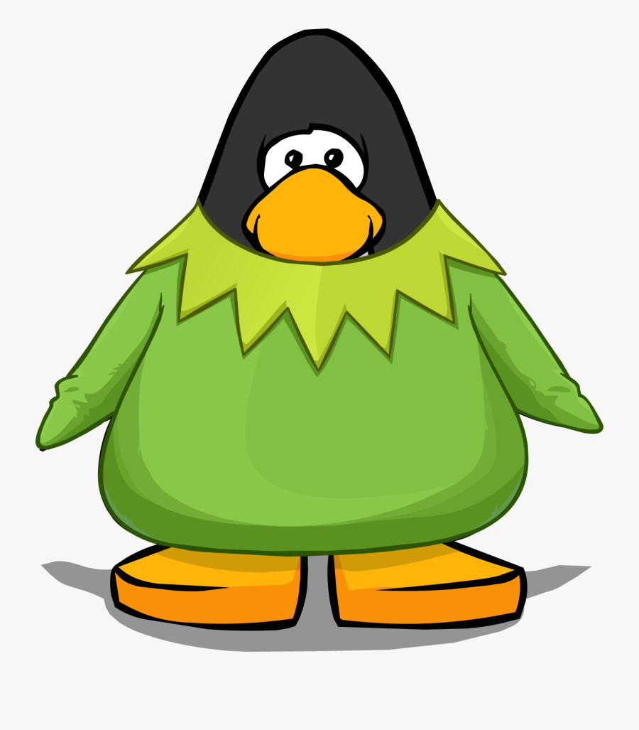 Image Kermit The From - Club Penguin With Headphones, Transparent Clipart