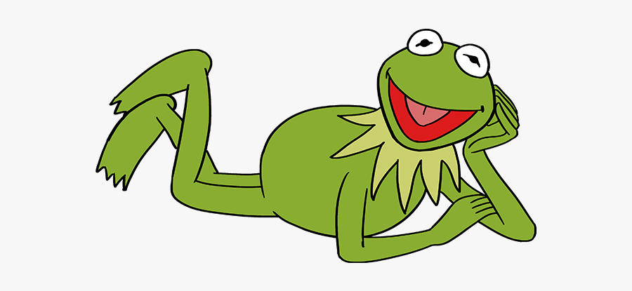 Step By Step How To Draw Kermit, Transparent Clipart