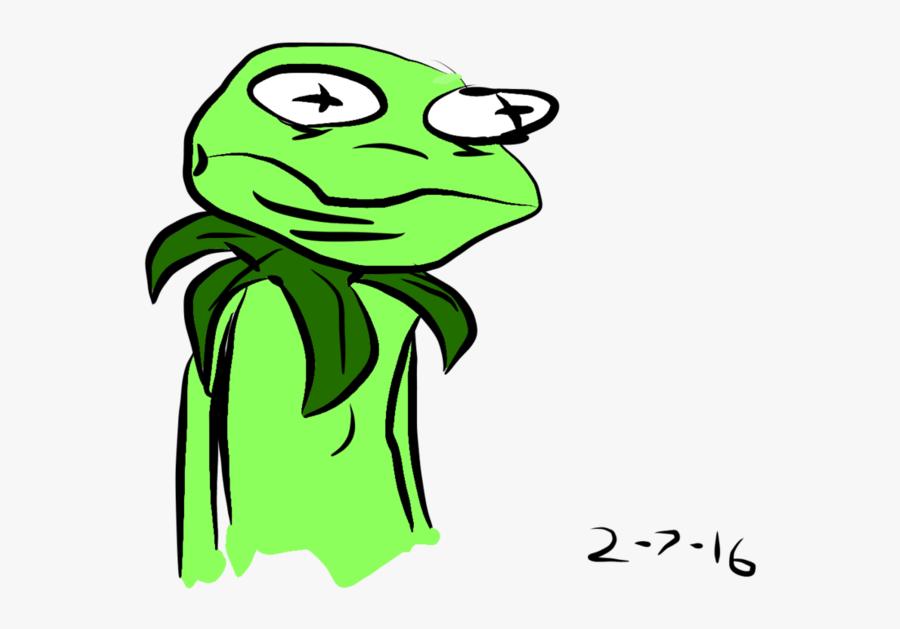 Transparent Kermit Png - Kermit The Frog Drawings, Transparent Clipart