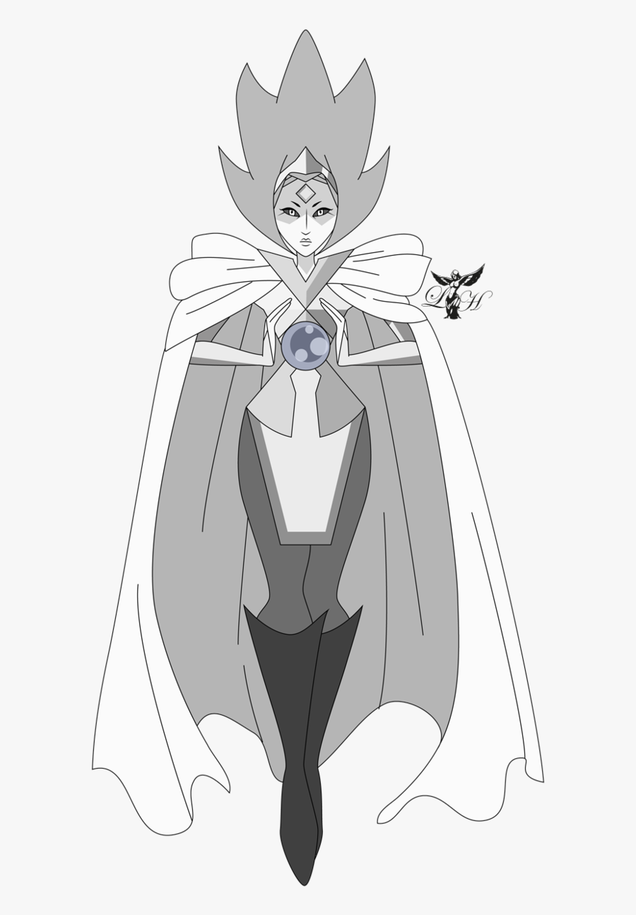 Clipart Black And White Library Card Drawing Universe - White Diamonds Face Steven Universe, Transparent Clipart