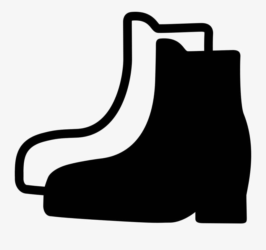 Pair Of Boots - Safety Boots Icon Png, Transparent Clipart
