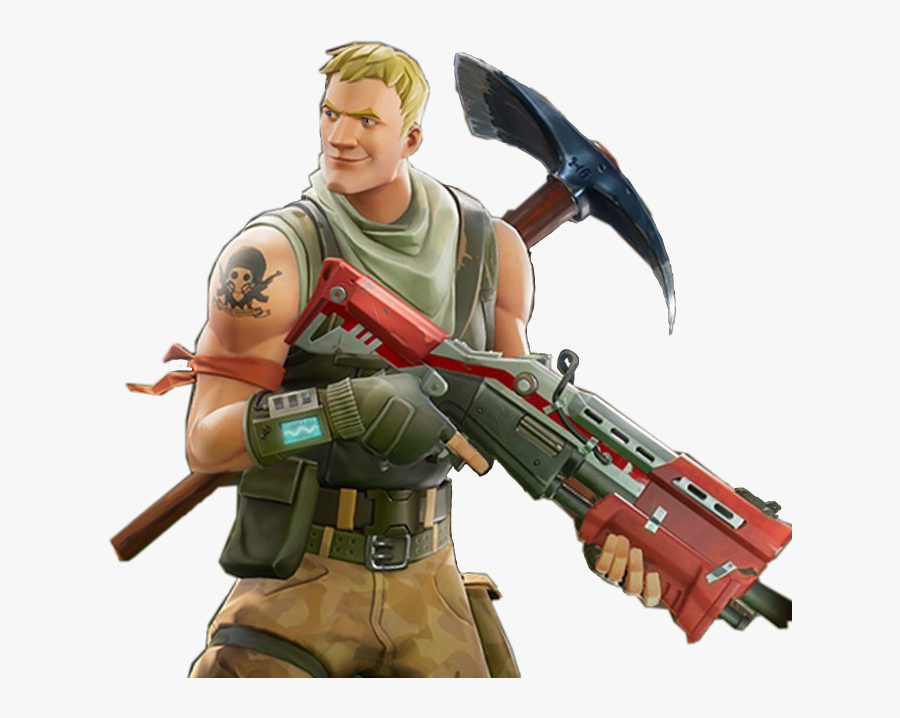 Clipart Gun Fortnite - Fortnite Characters Transparent Background, Transparent Clipart