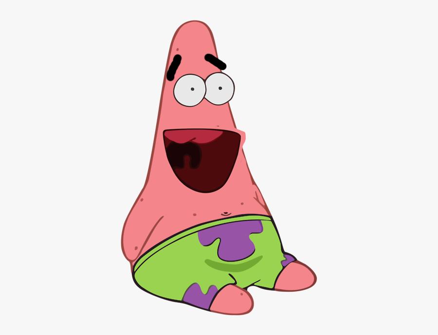 Patrick Star Spongebob Squarepants Sticker Decal Squidward ... (900 x 689 Pixel)