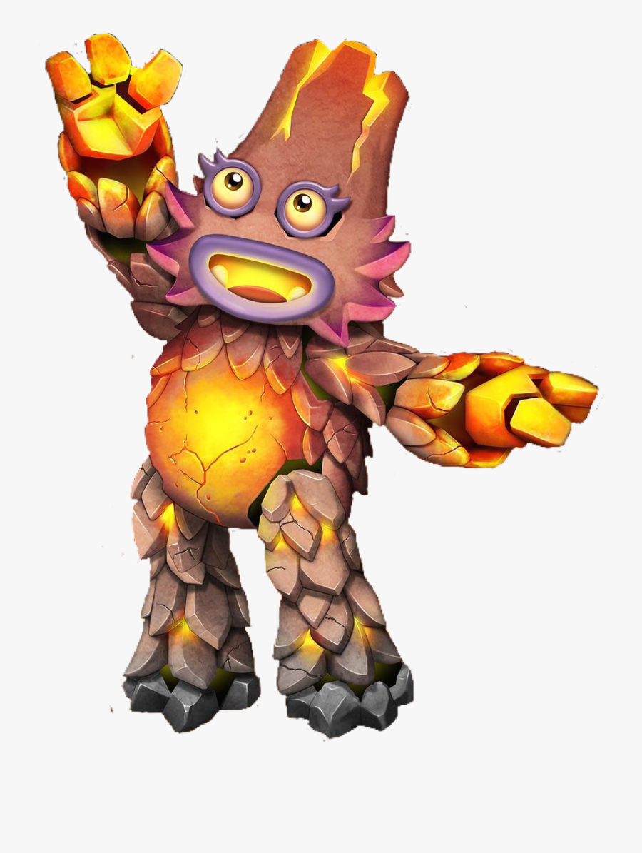Creatures Lava Monster Free On Dumielauxepices Net - Kayna Dawn Of Fire, Transparent Clipart
