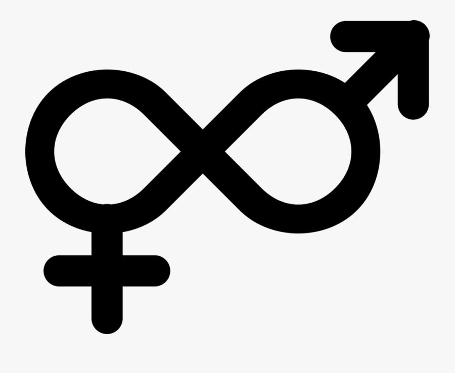 Area,text,symbol - Gender Neutral Symbol Png, Transparent Clipart