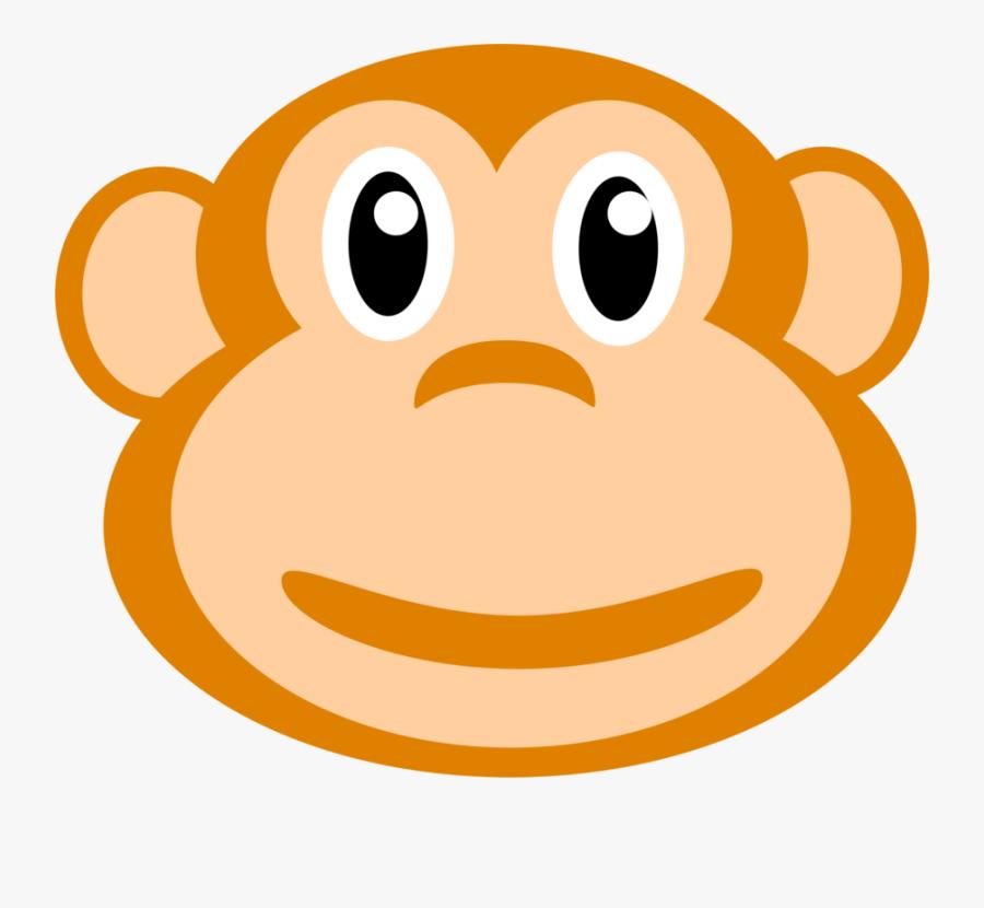 Beagle Clipart Face - Monkey, Transparent Clipart
