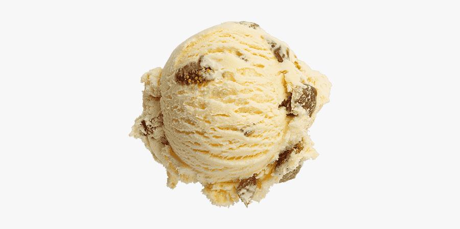 Clip Art Image Of Ice Cream - Almond Ice Cream Scoop Png, Transparent Clipart