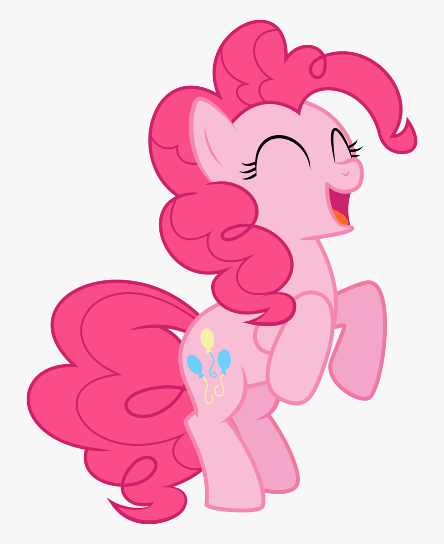 Absurd Res, Artist - Mlp Pinkie Pie Happy Vector, Transparent Clipart