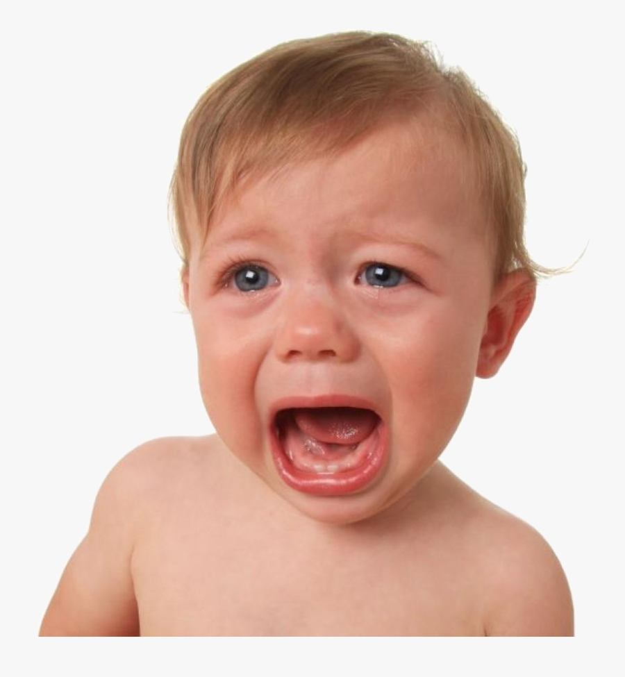 Baby Crying Png - Crying Baby Stock, Transparent Clipart