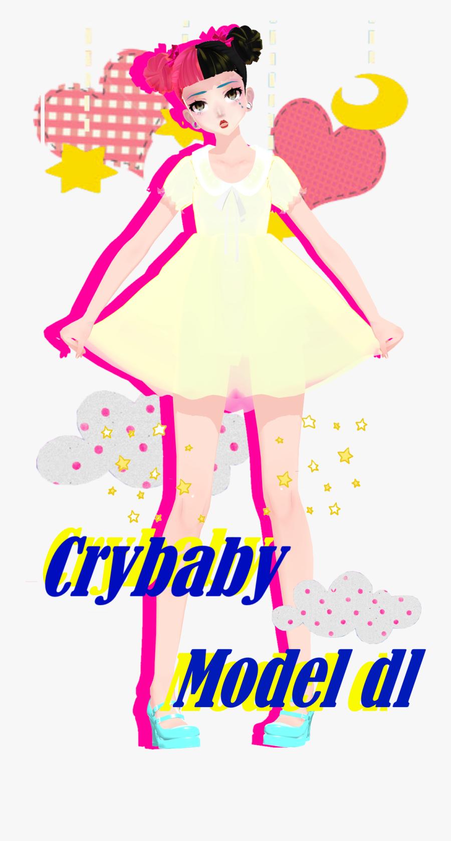 [mmd] Tda Melanie Martinez-crybaby By Reggieandcheese - Melanie Martinez Cry Baby Mmd Dl, Transparent Clipart
