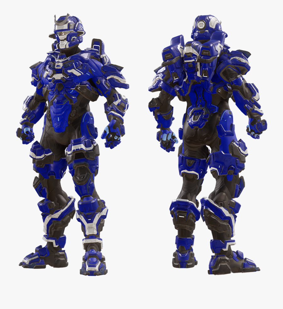 Clip Art Halo 5 Armor Halo 5 Spartan Blue Free Transparent