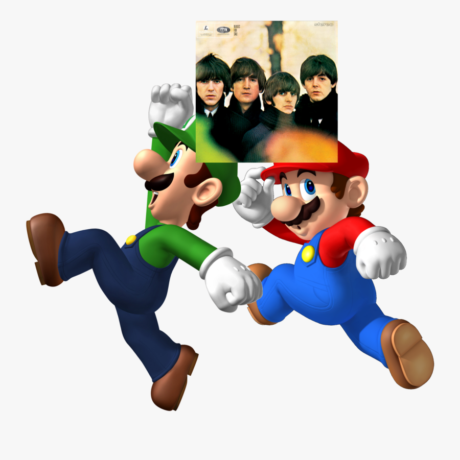 Beatles Beatles For Sale - Happy National Mario Day, Transparent Clipart