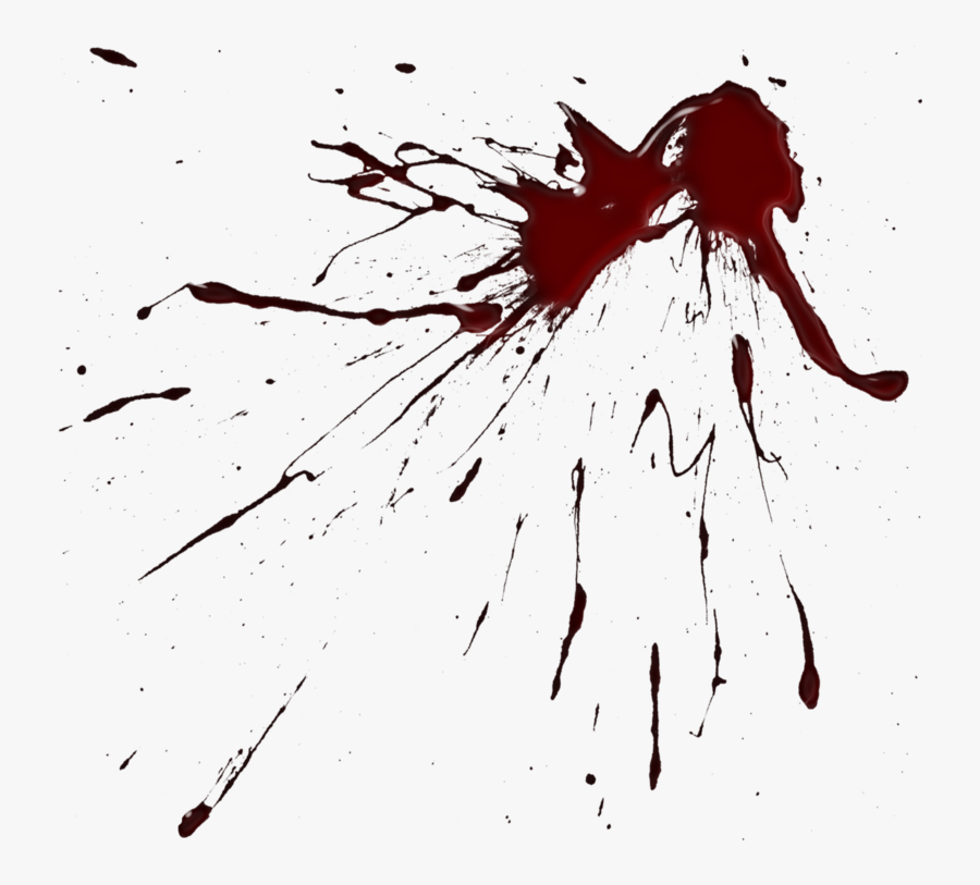 Realistic Dripping Blood Png - Blood Splatter Clipart Png ...