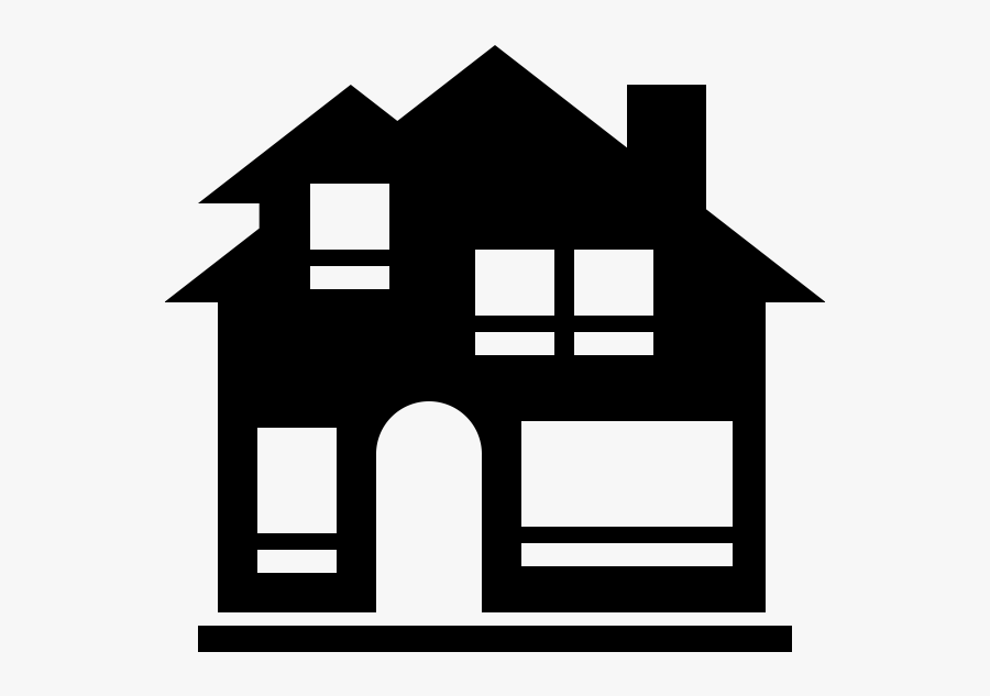 Houses Clipart Renovations - Big House House Icon, Transparent Clipart