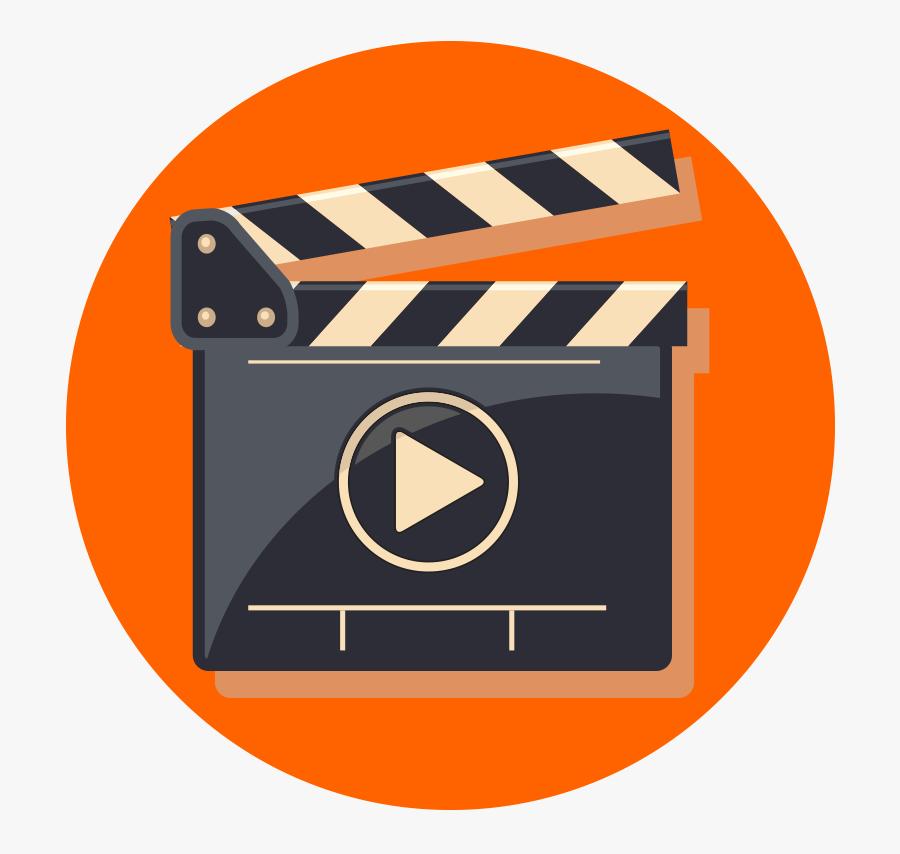 Icono De Video Animado, Transparent Clipart