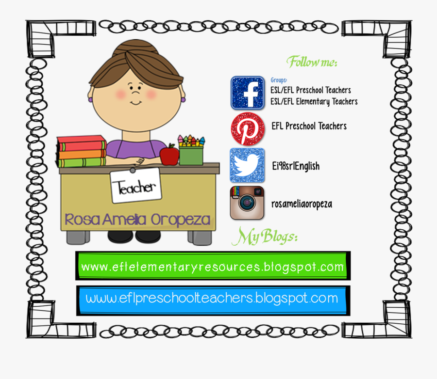 Learning Clipart English Language Learners - Meet With Teacher Clip Art, Transparent Clipart