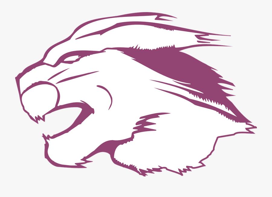 Head, Animal, Fur, Cougar - Vector Head Animal Png, Transparent Clipart