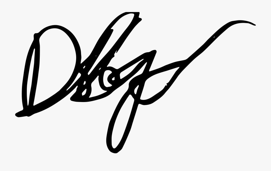 Author Signature - Dele Alli Signature Png, Transparent Clipart