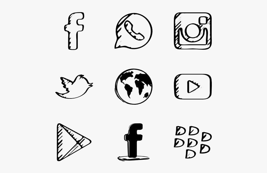Sketch Icons Free Sketched, Transparent Clipart