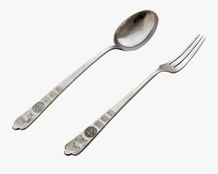 Spoon - Silver Fork And Spoon, Transparent Clipart