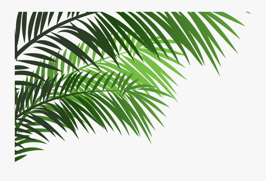 Palm Leaf Emoji, Transparent Clipart