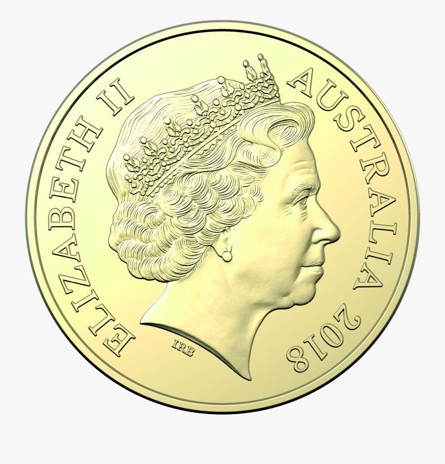 Gold Coin Png Free Download - Australia One Dollar Coins, Transparent Clipart
