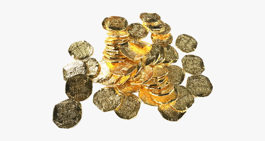 Clip Art Pirate Currency - Pirate Coin Treasure Art, Transparent Clipart