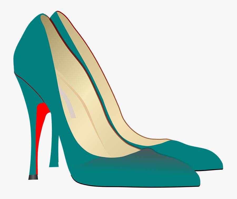 High-heels Stilettos Show Pump Elegant Fashin - Ladies Fashion Shoe Shoes Clipart, Transparent Clipart